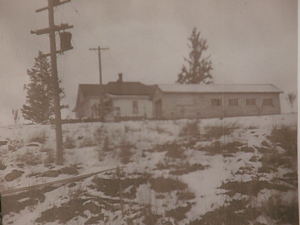 My grandparents lived atop a hill on the outskirts of Kalispell.  They had the longest, skinniest garage I have ever seen.