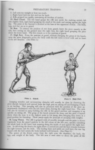 An illustration from Carl's WW II infantry textbook.