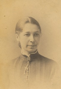 """According to my Aunt Corinne this is my grandmother's aunt Karoline (""""Lena""""), sister of the author of the letter."""