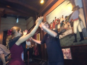"A couple Zumba lessons gave me self confidence to teach the ladies the ""tango"" in Argentina."