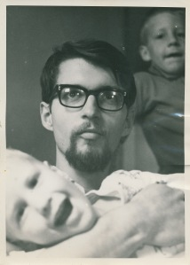 Tom Struckman, about 1964, with nephews Chris and Chuck Angel in Dillon, Montana.