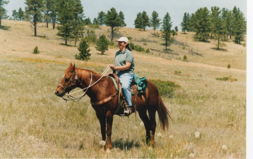 Penny Struckman Cheyenne Trail Ride 1998