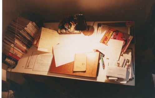 Tom's desk